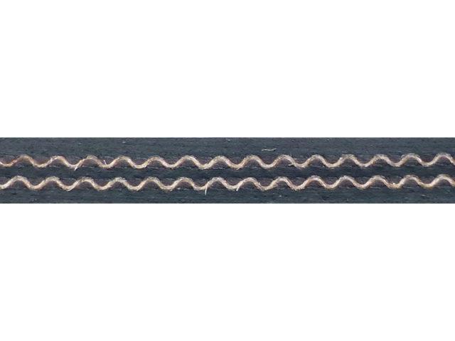 Качественная 2-х слойная конвейерная лента, используемая при изготовлении полотна подборщика. ПАО «Миллеровосельмаш».