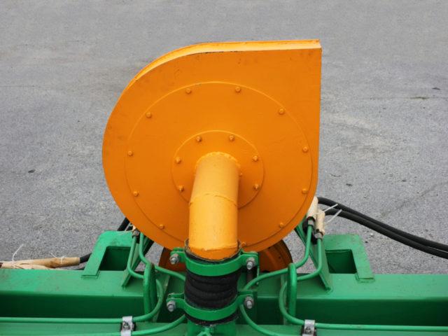 Вентиляторная установка. Сеялка пропашная точного высева МС-12С. ПАО «Миллеровосельмаш».