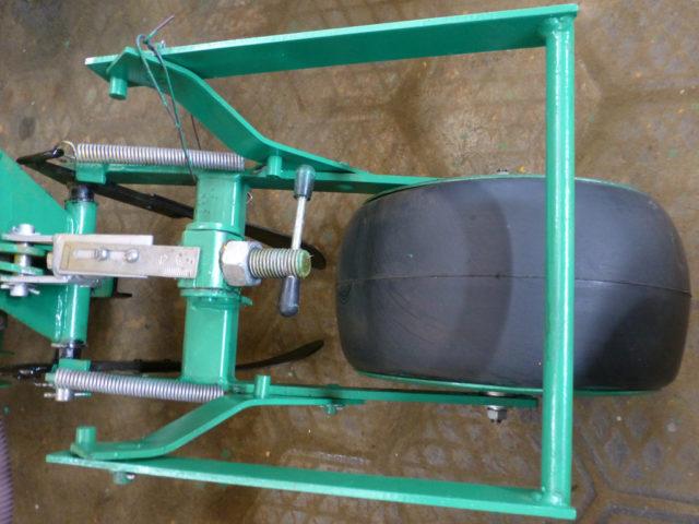 Прикатывающее колесо. Сеялка пропашная точного высева МС-8. ПАО «Миллеровосельмаш».