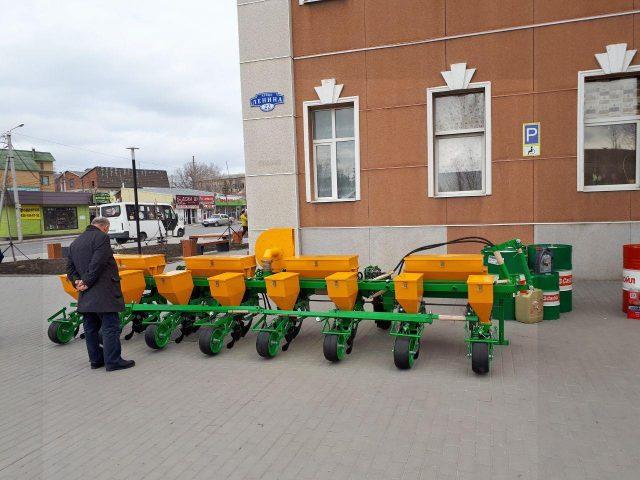 Сеялка точного высева МС-8. ПАО Миллеровосельмаш. Совещание по вопросу организованного проведения весенне-полевых работ в 2020 году в Ростовской области.
